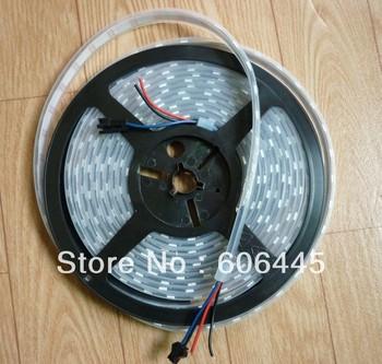 2013 LED New Product 60pixels/m 60LEDs/m Arduino-Compatible WS2811 5050 SMD Digital RGB LED Pixel Strip
