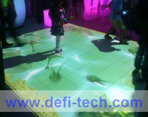 Magic floor Interactive software for interactive projection floor system.with 118 effects(China (Mainland))