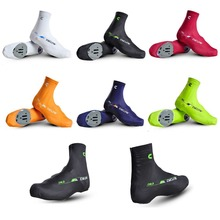 2015 New Winter Bike Cycling Zippered Overshoes Bicycle Breathable Windproof Shoe Covers 6-Color Free Shipping(China (Mainland))