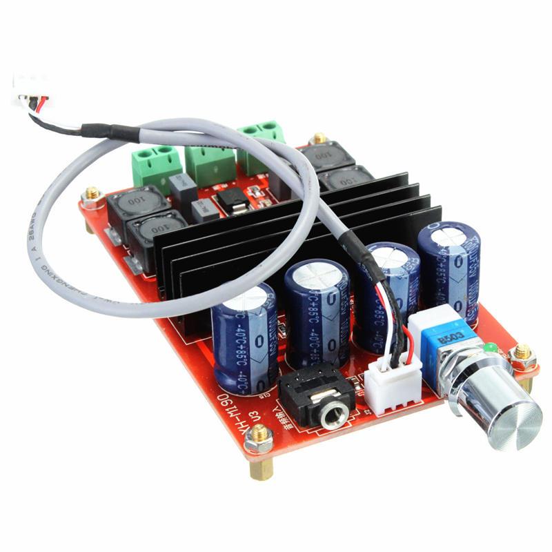 TPA3116D2 2x100W 2 Channel Digital Amplifier Audio Board Dual Channel 12 to 24V Audio Amplifier board DIY Module for Arduino