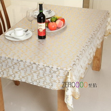 Pvc plastic table cloth waterproof oil disposable dining table cloth fashion print tablecloth table cloth customize