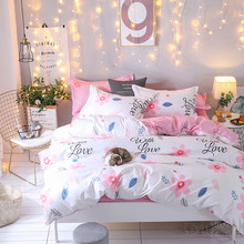 Bedding Set luxury Animal Fox 3/4pcs Family Set Include Bed Sheet Duvet Cover Pillowcase Boy Room Decoration Bedspread32(China)