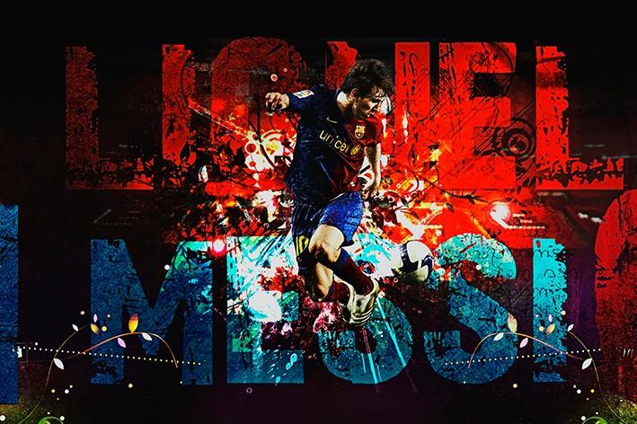 Wallpaper Barcelona Lionel Messi HD