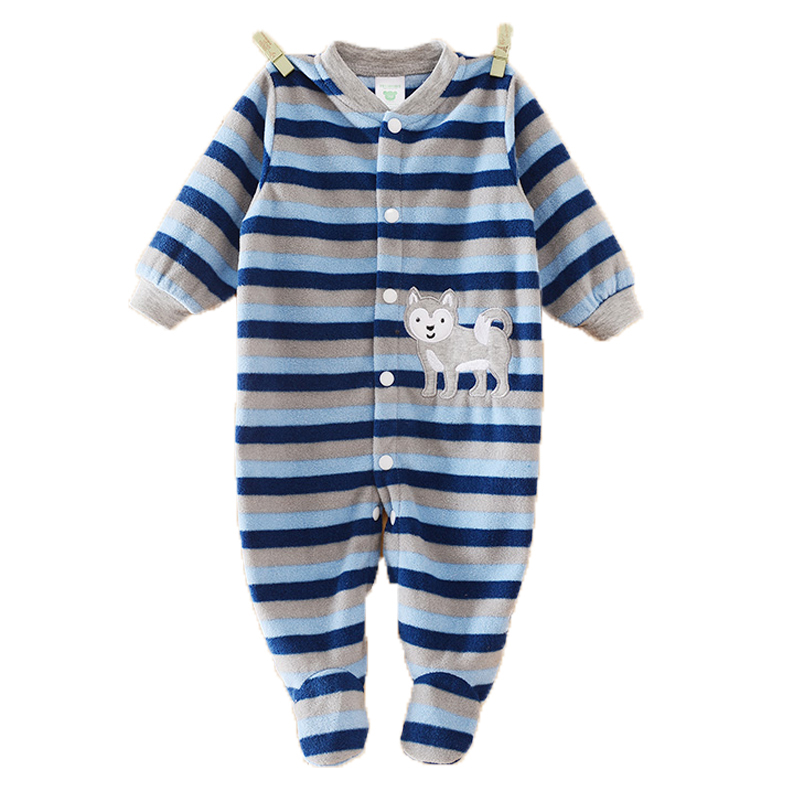 Baby Boy Clothes Girl Jumpsuits Winter Newborn Baby Clothes Cartoon Warm Romper Animal Costume Baby Rompers Infant Boy Clothes(China (Mainland))