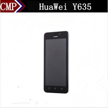 Original HuaWei Y635 Mobile Phone Snapdragon 410 Quad Core Android 4.4 5 Inch IPS 854X480 1GB RAM 4GB ROM 5.0MP GSM&CDMA NFC(China (Mainland))