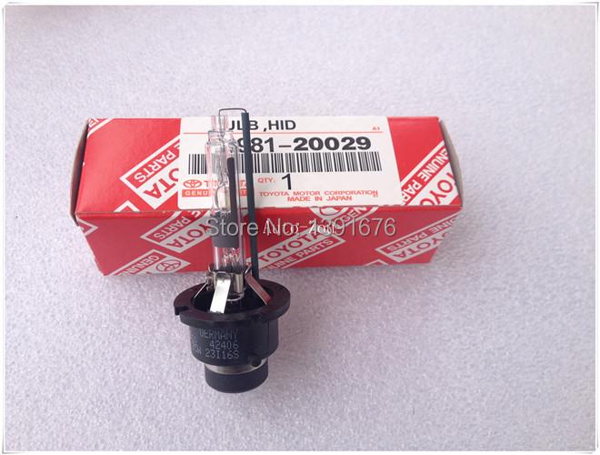 Toyota Corolla Prius Yaris Hiace Xenon Hid Headlight Bulb D4R 12V 35W 4300K 90981-20029(China (Mainland))