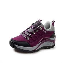 Женские водонепроницаемы дышащие кроссовки открытый обувь для ходьбы для женщин скальные туфли 2 цвет размер евро 35 ~ 40