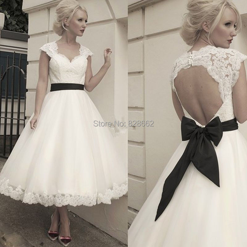 2014 Summer New White Ivory Sweetheart neck Lace Short Wedding Dress Bridal Party Gown Size US 2 4 6 8 10 12 14 16 18 20 +++ - Jinpeng Bai's store