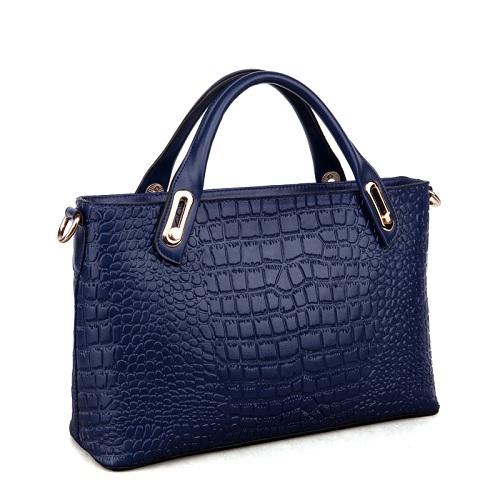 Quality Genuine Leather Alligator Grain European Style Business OL Women Tote Bag Handbag Crossbody and Shoulder Bag 9013<br><br>Aliexpress