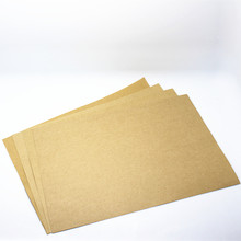 "21*29.7cm 100Pcs/ Lot Light Brown Standard Kraft Paper A4 Writing Paper Office School Supplies 8.26""x11.69"" Copy Printing Papers(China (Mainland))"