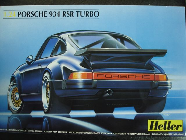 Out of print! HEL80714 - Heller 1:24 - 934 RSR TURBO <br><br>Aliexpress