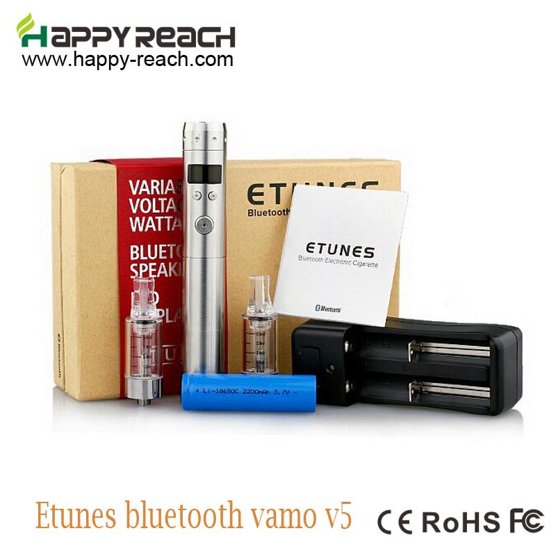 5set  Bluetooth Vamo Mod e cigs Supporting Music And Telephone Call Etunes Full kit  VS vamo V8 V9 e cigs  vamo V5 bluetooth<br><br>Aliexpress