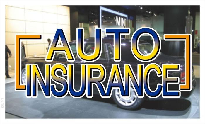 bb793 Auto Insurance Car Banner Shop Sign Wholesale Dropshipping(China (Mainland))
