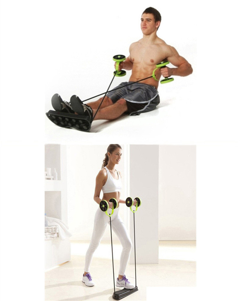 Fitness Equipment Advertisements: 2019 Wholesale Home Exercise Equipment Core Double Ad