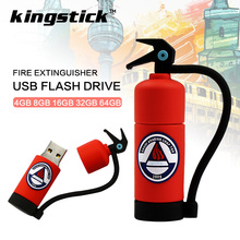Buy Cartoon Fire Extinguisher 4GB 8GB 16GB USB Flash Drive 32GB 64GB USB Flash disk Memory stick U disk pendrive Pen Drive gift for $2.05 in AliExpress store