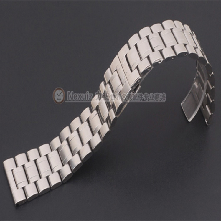 Nexuiz Watchband ,Replacement 28mm 30mm watch band bracelets for Wristwatch Stainless Steel Strap for Hours solid link polished<br><br>Aliexpress