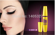real Mascara brand waterproof Eyelashes Professional Makeup Curling Mascara Express COLOSSAL Mascara With Package