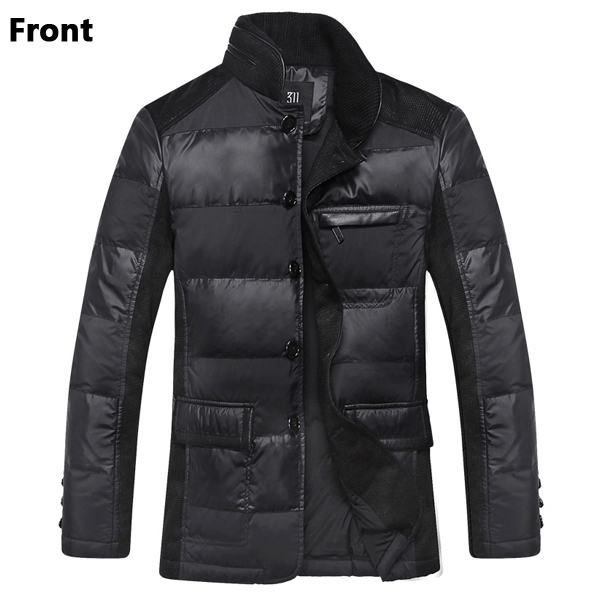 2015 Brand Winter Coat Men Duck & Parkas Jacket Outdoors Windbreaker Thick Warm Man Overcoat Male Y008 - VOGOAL FASHION store