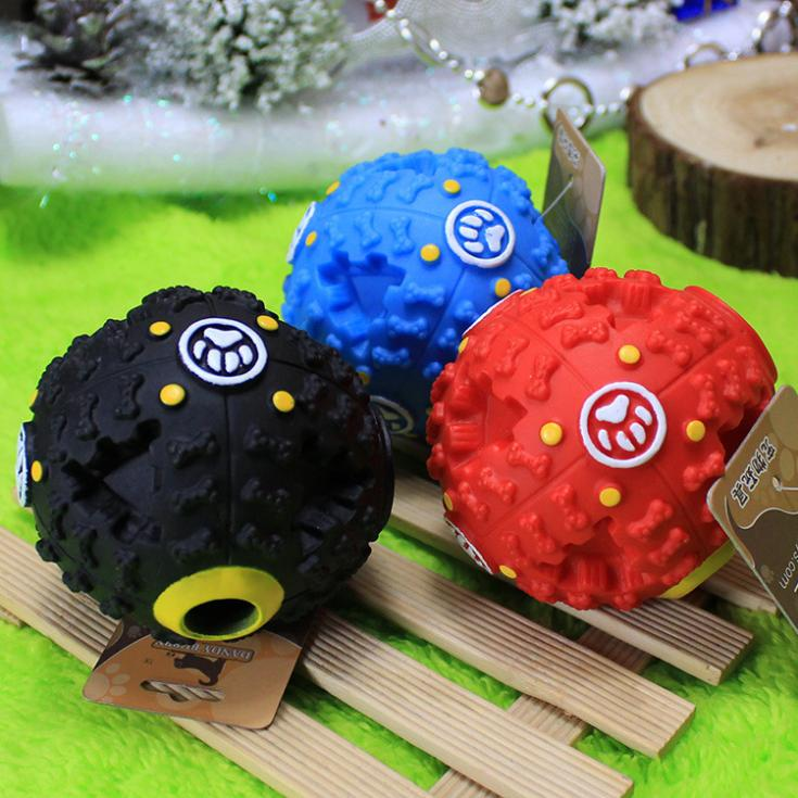 JXHX Pet Dog Voice Sound Ball resistant to bite shrieking ball puzzle toy for pets free shipping(China (Mainland))