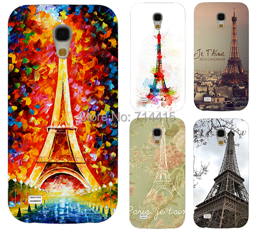 Hot selling Brilliant Painting Eiffel Tower Series Mobile phone case cover skin Shell Samsung galaxy S4 mini I9190 SIV - TAOYUNXI store