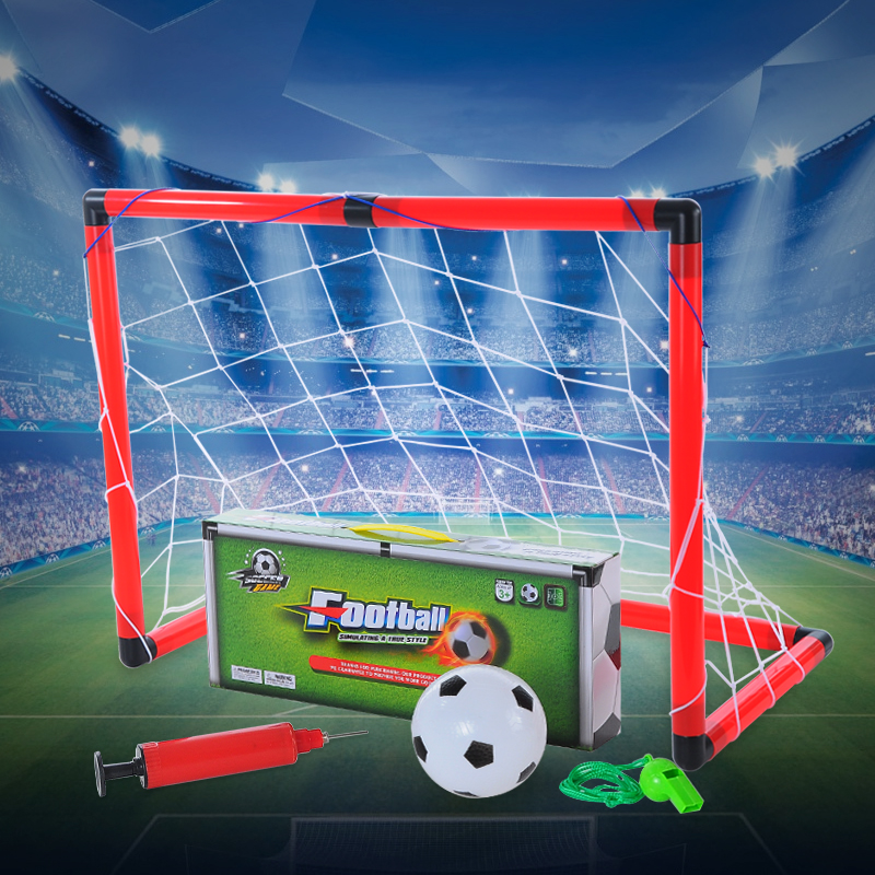 Mini child football gate toy sports toy football door outdoor goal spherule(China (Mainland))