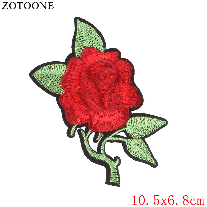 embroidered flower applique