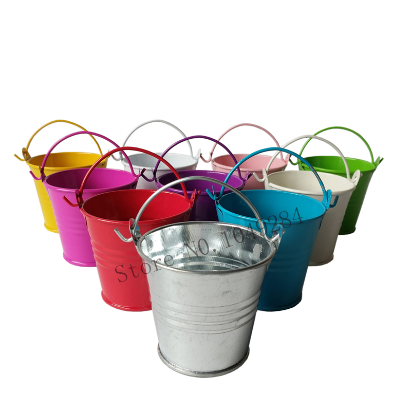 Online buy wholesale small metal pails from china small for Tiny metal buckets