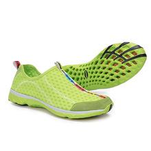 Мужские спорт кроссовки обувь воздухопроницаемая сетка мужчины аква обувь супер лёгкие свободного покроя лето женщины кроссовки бег обувь вода