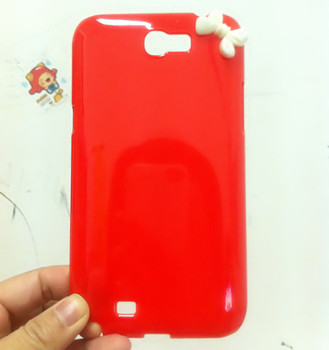 For samsung   n7100 7102 7108 719 red bow note2 phone case protective case hard shell