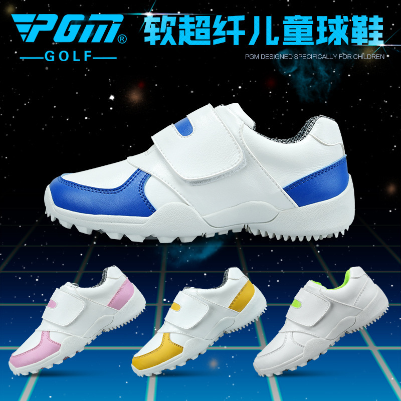 New PGM Goods Children Microfiber Golf Gym Shoes Catamite Boy Girl Multicolor Comfortable Ventilation Good-looking Sneakers(China (Mainland))