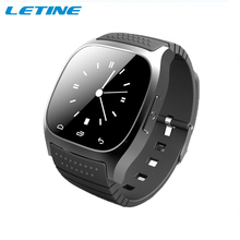 2015 Waterproof Smart Watch M26 Woman Men Bluetooth Smartwatch Sync Phone Call Pedometer Anti-Lost For Android Smartphone
