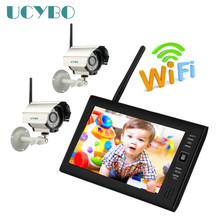 7″ LCD 4CH Wireless CCTV – DVR – Home Security System/Baby Monitor/Motion detection