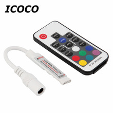 Buy New 1Pc Mini RF Wireless Led Remote Controller Led Dimmer Controller For Single Color Light Strip SMD5050/3528/5730/5630/3014 for $1.95 in AliExpress store