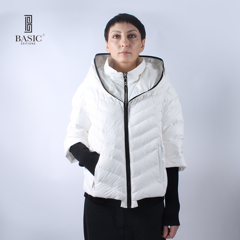 BASIC Women Winter Jackets 80% White Duck Down Jacket Hooded Light Down Jackets Warm Winter Coat Parkas NY15050Одежда и ак�е��уары<br><br><br>Aliexpress