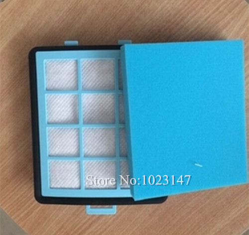 (1set =1 main filter +1 Air outlet filter ) Replacement Vacuum Cleaner Washable Hepa Filter for FC8760 FC8766 FC8767(China (Mainland))