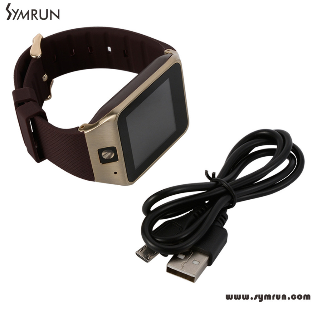 Symrun Waterproof GV18 Smart Watch Phone 1.30mp Camera NFC Support SIM TF Card for Android gv18 smartwatch sim card(China (Mainland))