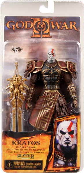 "7"" God of War Kratos in Ares Armor with The Blade of Olympus Action Figure Collection Classic Toys For Boys In Box ZS0003(China (Mainland))"