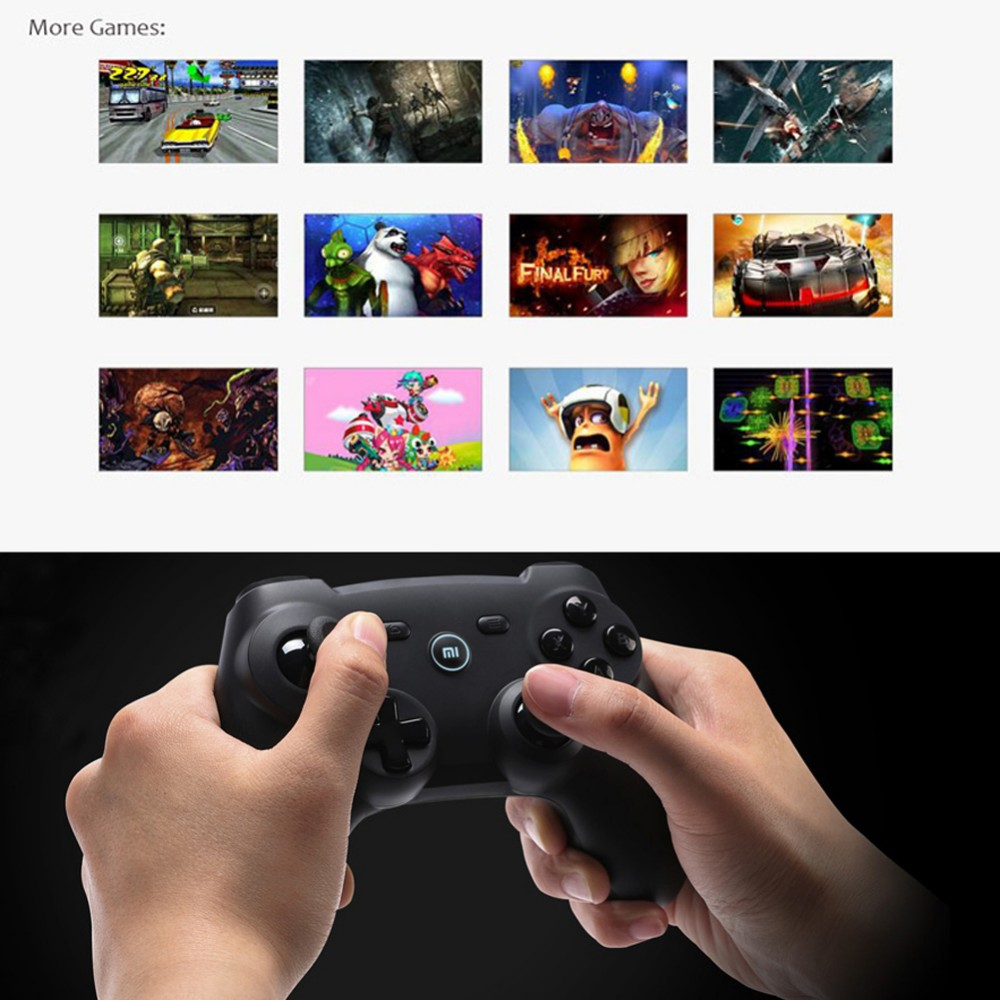 Original Xiaomi Wireless Bluetooth Game Handle Controller Remote Joystick GamePad For Android Smart TV PC Game Controller