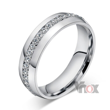 Wholesale fashion stainless steel wedding rings for women jewelry free shipping