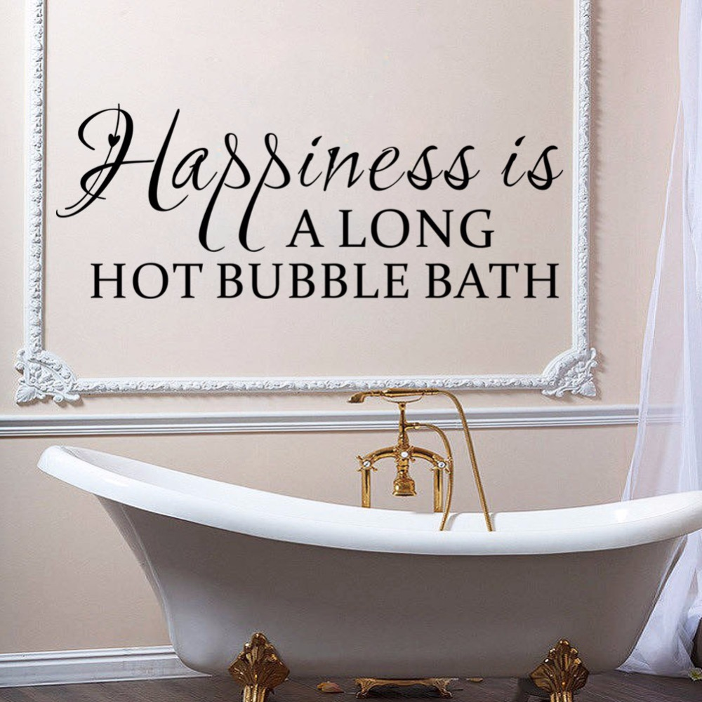Removable wall decals for bathroom - Bath Hat Picture More Detailed Picture About English Letters China Bathroom Wall U0027be Youu0027 Removable Wall Decal
