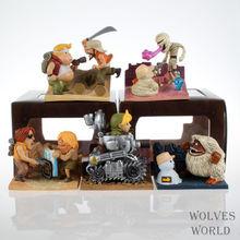 Metal Slug wendigo hostage wendigo fatty 5 pcs/set Boxed 6-9 cm PVC Action Figure Collection Model Toy toy