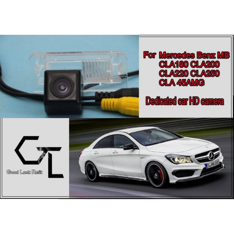 Car Camera For Mercedes Benz MB CLA180 CLA200 CLA220 CLA250 CLA 45AMG / HD CCD Back Up Camera / Modified Fans Preparing