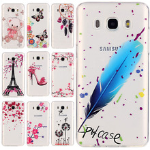 J510 Soft TPU Phone Case For Samsung Galaxy J5 (2016) J510 J510F J510FN 5.2 Inch Silicone Cover For Samsung J5 Cell Phone Bag