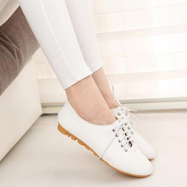 Womens 2015 Spring New British Lace Flats Faux Leather Casual Comfort Fashion Loafers Female Shoes Wild nurse shoes V228