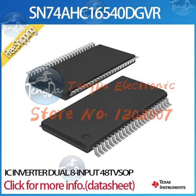 Free Shipping 10PCS/lot SN74AHC16540DGVR IC INVERTER DUAL 8-INPUT 48TVSOP 16540 SN74AHC16540 SN74AHC16540D(China (Mainland))