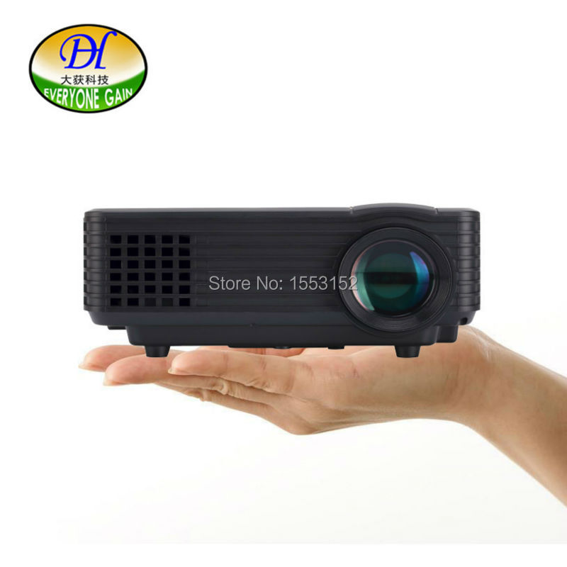 TV led android projector support 1080P films with TV USB VGA HDMI port Portable Home Theater Proyector mini320 beamer(China (Mainland))