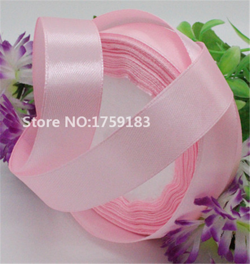 4 yards width 20mm 23 color beautiful Silk Satin Ribbon Wedding Party headband Invitation Card Gift
