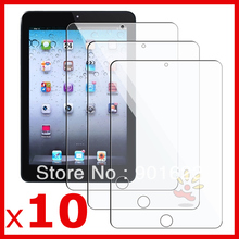 Ultra Clear HD Screen Protector Guard for Apple iPad mini 16GB / 32GB / 64GB (10Pcs/lot)(China (Mainland))
