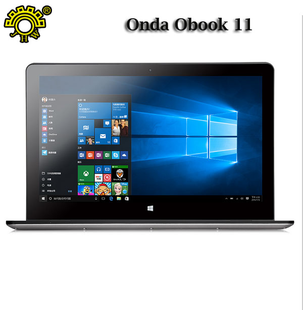 World First 11.6 Inch Onda Obook 11 OS Windows 10 Tablet PC 2GB RAM 32GB ROM IntelAtom X5 Quad Core HDMI 1920*1080 8000mAh WIFI(China (Mainland))