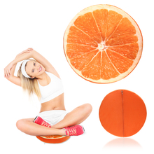 Buy 3D Summer Fruit Cushion PP Cotton Office Chair Back Cushion Sofa Throw Pillow Home Decor Soft Round decorative Pillows for $2.95 in AliExpress store